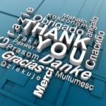 Thank You, Danke, Merci, Grazie, Gracias - Make Time to Say Thank You