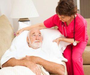 Man on Death Bed Ponders His Career and Leadership