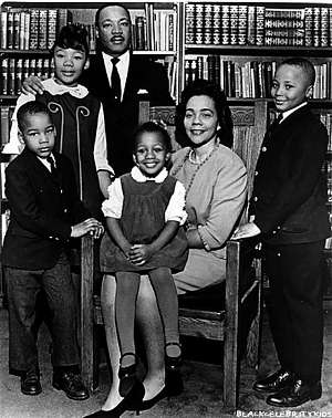 The Martin Luther King Family