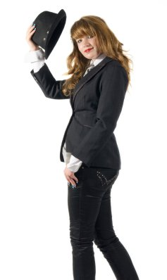 Business Woman Saying Goodbye