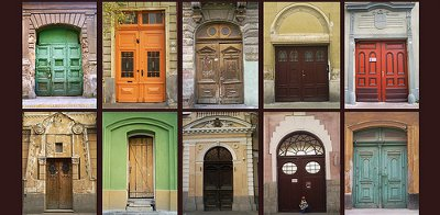 Front Door Varieties - CC License - http://www.flickr.com/photos/heticobai/