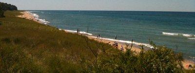 Saugutuck Beach