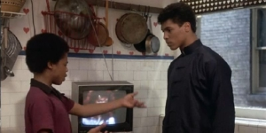 Little Brother Richie Misunderstands Leroy Green in the Last Dragon