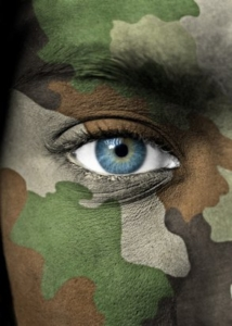 Soldier Face Paint