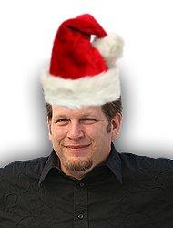 Chris Brogan in a Santa's Hat