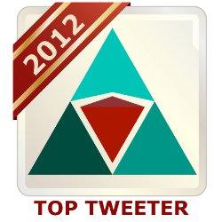 Modern Servant Leader - Top Tweeter 2012 - Large Badge