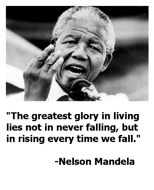 Nelson Mandela Leadership Quotes