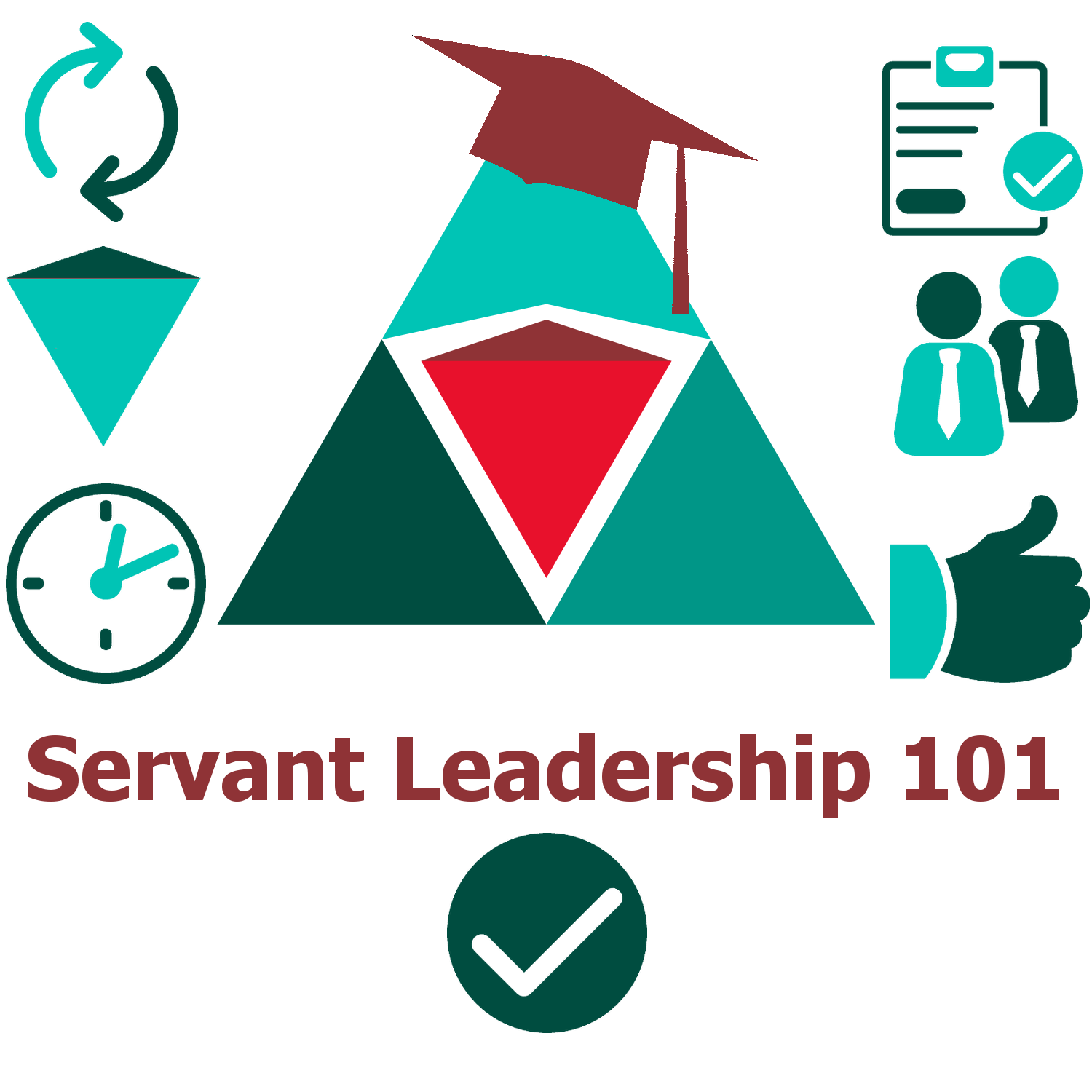 a lesson on servant leadership Planting seeds of leadership table of contents  and service/servant leadership although particular activities are listed within one of these areas,.