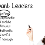 SERVANT Leaders are Selfless – Acronym Model