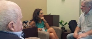 Dan Rockwell (aka Leadership Freak) interviews Suzy & Jack Welch, backstage at the World LEADERS Conference.