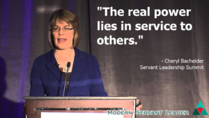 Cheryl Bachelder Quote - Real Power Lies in Serving Others